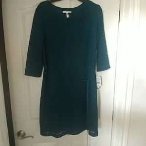 NWT Green easy care dress